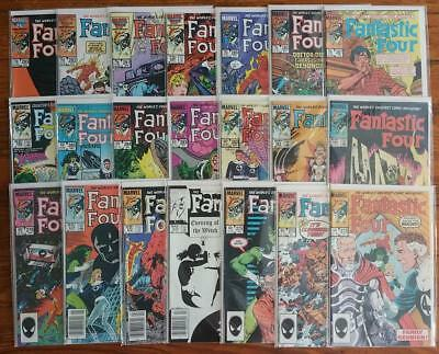 Fantastic Four #273-293: John Byrne ! NM condition, (except for #275, 276)!