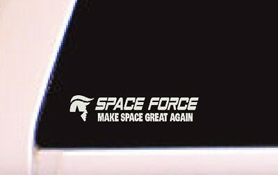 President Donald Trump Space Force Spaceforce  Decal Sticker Car Window Laptop