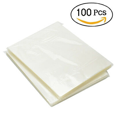 Thermal Laminating Pouches 3 Mil Heat Seal A4 Letter Size 9x11.5 Sheets 100 Pack