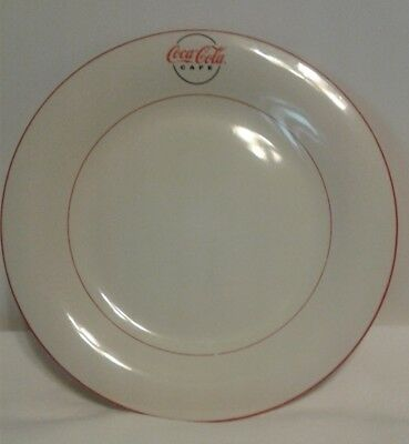 Gibson Coca Cola Diner 11 1/2 Inch Dinner Plate