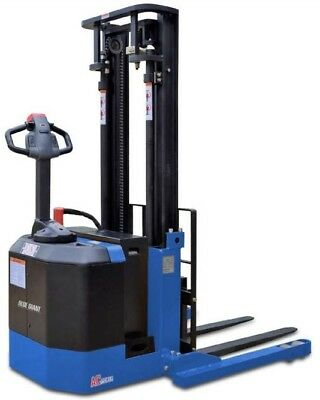 """Blue Giant 104"""" Lift Powered Walkie Stacker BGS-30-104"""