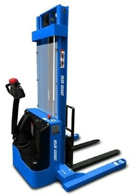 """Blue Giant 128"""" Lift Powered Drive Straddle Truck EPS-30"""