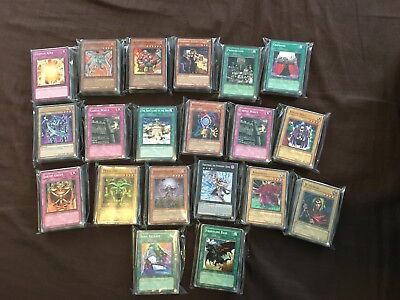Yugioh Premium Played Damaged Bulk Lot 1000 Random Common Cards Free Shipping