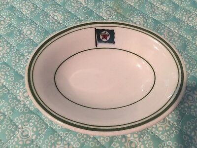 TEXACO TANKER USED RESTAURANT WARE MAYER CHINA Sm Oval Serving Bowl 45
