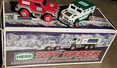2008 Hess - Toy Truck and Front Loader - NEW with Box + 2 more Hess Vehicles