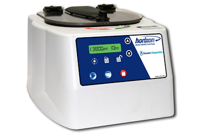NEW DRUCKER 642VES 500-3900 rpm / 1600g rcf FIXED ROTOR CENTRIFUGE BLOOD WORK