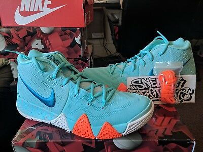 new product 5d950 46b2a NIKE KYRIE 4 IV Power is Female Light Aqua Neo Turquoise Irving Men's  943806-402