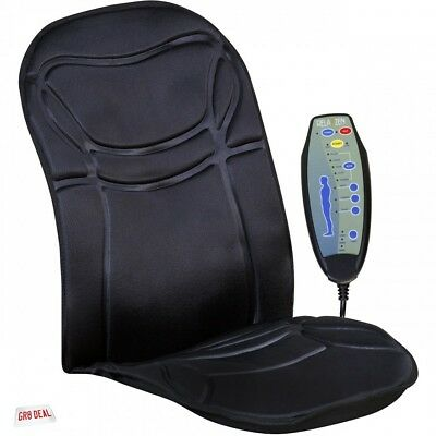 Heated Massage Car Seat Massager Cover Heat Back New Chair Portable Cushion