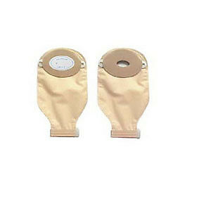 "1-Piece Post-Op Adult Drainable Pouch Cut-to-Fit Convex 1-1/2"" x 2-3/4"" Oval Par"
