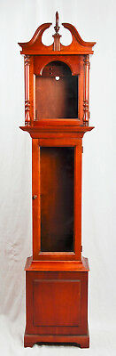 Howard Miller grandfather clock case only @ 1980s Nice