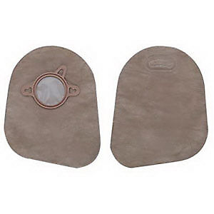 "New Image 2-Piece Closed-End Pouch 2-1/4"", Beige Part No. 18393 Qty  Per Box"