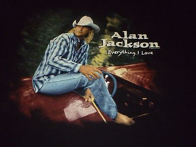 Alan Jackson Vintage Tour Shirt ( Used Size XL ) Very Nice Condition!!!