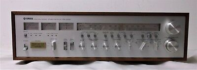 Vintage Yamaha Natural Sound Stereo Receiver / Model #CR-2020 (As Is For Repair)