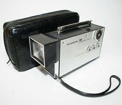 1970 Very Rare Panasonic Tr-001 First Micro Television Works Vintage Space Age
