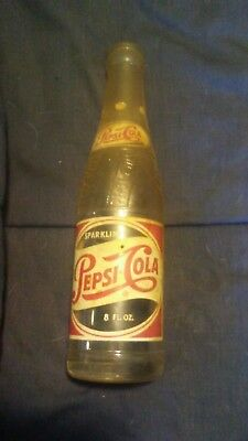 vintage Pepsi glass bottle 8 oz