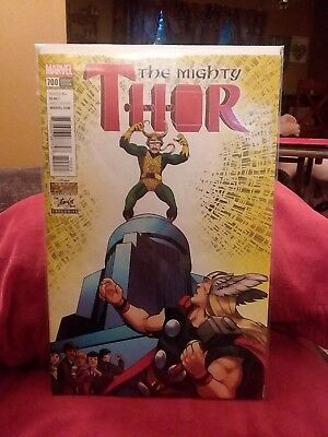THE MIGHTY THOR #700 VARIANT STAN LEE BOX EXCLUSIVE marvel comics