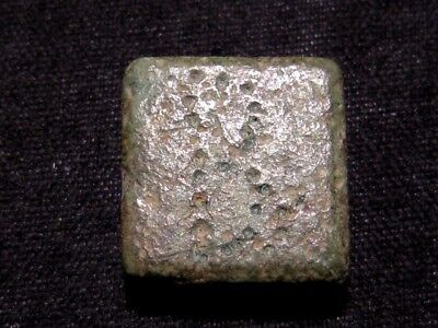 BYZANTINE PERIOD BRONZE COIN WEIGHT in AS FOUND CONDITION+++