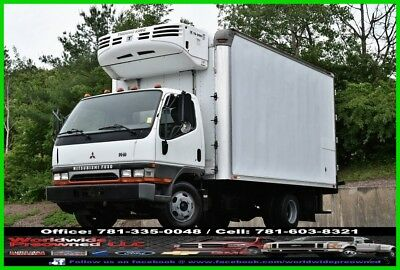 04 Mitsubishi Fuso Fe-HD Reefer Truck 3.9L Turbo Diesel Refrigerated Thermo King