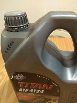 Fuchs Titan ATF 4134 automatic Transmission (Gearbox oil) 2 litre for Mercedes