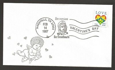 1987 US Girl Scouts 75th anniv Nashville cancel Brownies