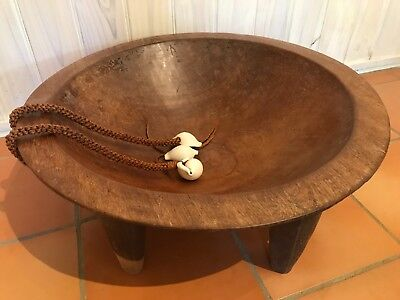Traditional Fijian Tanoa | Hand Carved Kava Bowl