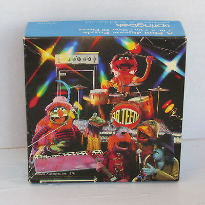 MUPPETS PUZZLE SPRINGBOK DR.TEETH and the ELECTRIC MAYHEM BAND 1978 7x7
