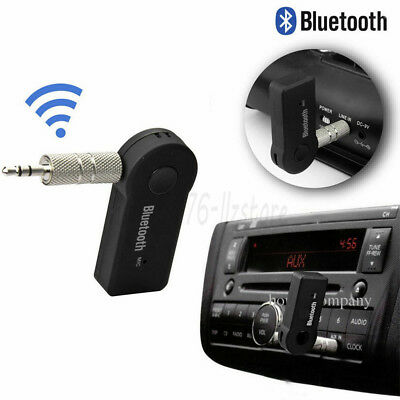 Bluetooth Receiver 3.5mm Car AUX Stereo Audio Music Wireless Adapter Speaker