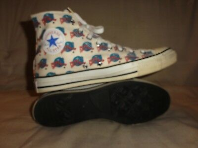 Vintage Converse All Stars Planet Hollywood High Tops Made In Usa Size 10.5 Mens