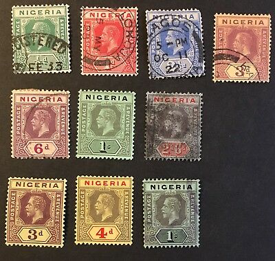 1914-15 Nigeria 4 Mint HOG 6 UHNG Great Collection L154-54