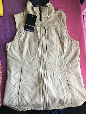 Exfficio FlyQ Lite Vest Multi-pocket vest GREAT FOR TRAVEL or OUTDOORS size XS