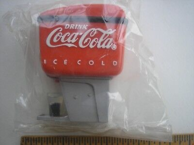 Vintage Magnet Coca Cola Soda Fountain with glass In sealed bag 1995
