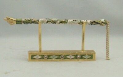 Beautiful Enamel(Yad)Torah Pointer/Bible Pointer/with stand/Gift box. Free Ship