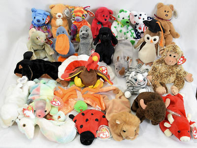 33f9234752b HUGE LOT OF mint Ty Beanie Babies with mint tags -  825.00