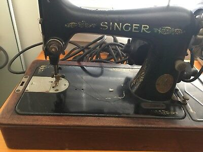 Antique 1928 Singer sewing machine with knee bar REDUCED!