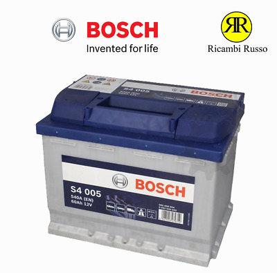 s4 004 bosch batterie de voiture 12v 60ah type 075 s4004 eur 77 71 picclick fr. Black Bedroom Furniture Sets. Home Design Ideas