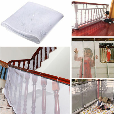 Safety Child Railnet Net Pet Guard Baby Stair Balcony Deck Gate Dog Mesh Strict