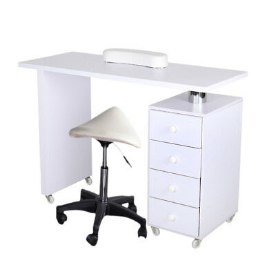 Manicure Nail Art Beauty Salon Table Desk Tattoo Technician Station With Drawers