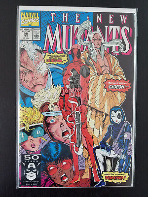New Mutants #98 (Deadpool first appearance! Domino first appearance!)