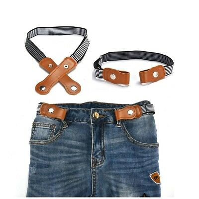 Buckle-free No Bulge Strap For Children No Buckle and Hassle Children Free-Belts