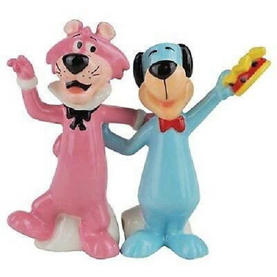 Huckleberry Hound And Snagglepuss Salt And Pepper Shakers