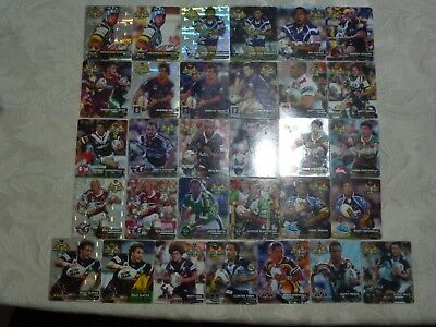 31 bulk rugby league 2006 hot shot nrl tazos - all different