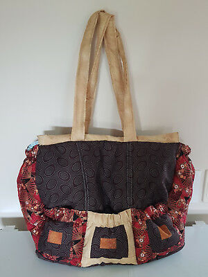 AUSTRALIAN MADE Baby Nappy Bag - Brand New -Unique Quilted and Fully Lined Bag