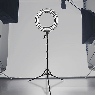 """New Camera Photo Video Dimmable Ring Fluorescent Flash Light Lighting Kit 18"""""""