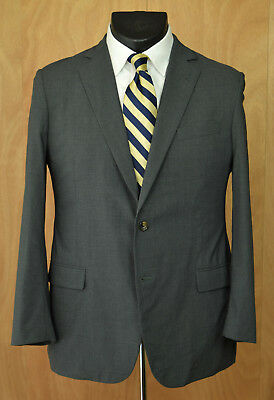 76752bf1686c Brooks Brothers 'Brookscool' Fitzgerald Suit Coat 42R Gray Full Canvas  Blazer