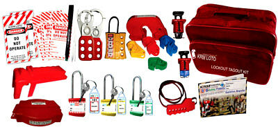 Krm Loto - Industrial Safety Lockout Kit B1