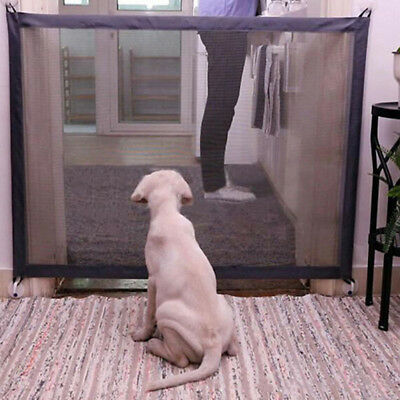 Mesh Magic Pet Dog Gate Safe Guard And Install Anywhere Pet Safety Enclosure tg8