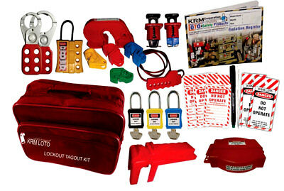Krm Loto - Industrial Safety Lockout Kit B2