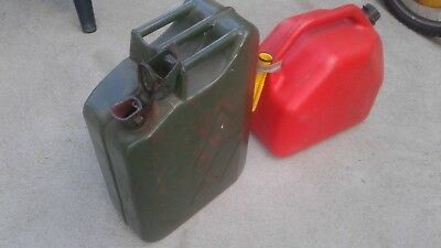 Jerry can plus 20 litre plastic-.99 cent start and no reserve