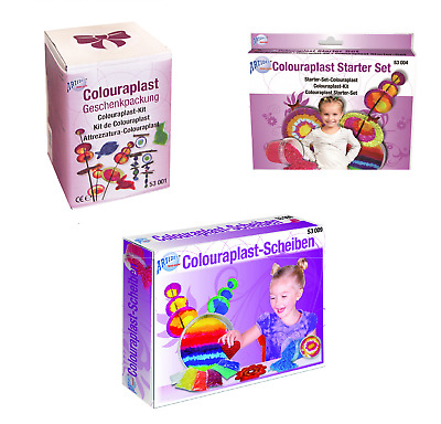 CREARTEC Colouraplast Bastelsets  - Schmelzgranulat - Made in Germany