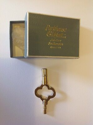Carriage/Mantel Clock Double Ended Key No. 7